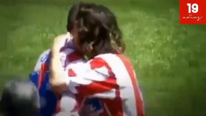 19 años del debut con el Atlético de Fernando Torres