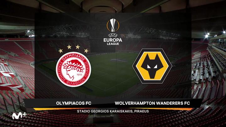 Europa League Resumen del Olympiacos-Wolverhampton