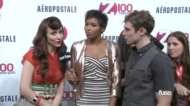 Fuse Presents: Jingle Ball: Karmin Talk Music Firsts, Until The Script Crashes Their Party - Fuse Presents Z100's Jingle Ball 2011