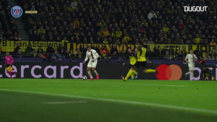 Los goles del París Saint-Germain en su eliminatoria ante el Borussia Dortmund