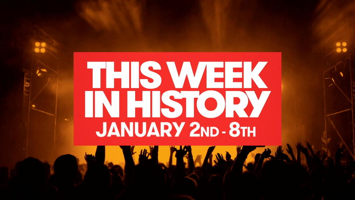 Sex Pistols Final Tour, Ryan Seacrest Takes Over AT40: This Week In History