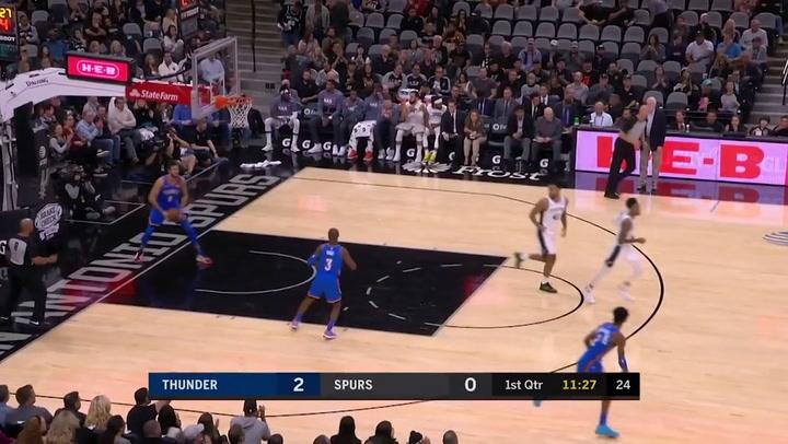 Lamarcus Aldridge (Spurs), el jugador de la jornada de la NBA
