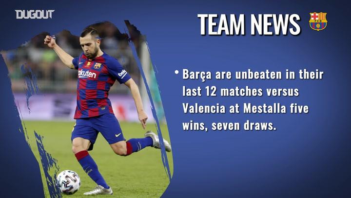 Valencia CF vs FC Barcelona Match Preview