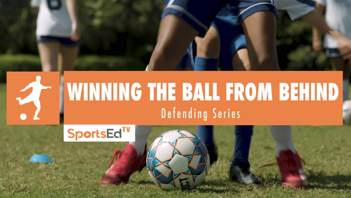WINNING THE BALL FROM BEHIND - Winning Defensive Skills • Ages 6-9
