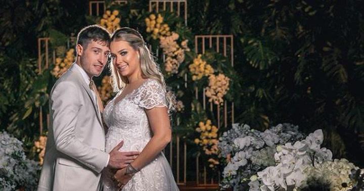 Caroline Dantas, ex de Neymar, se casa con el empresario Vinicius Martinez