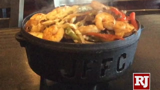 Juan's Flaming Fajitas in Las Vegas celebrates National Fajita Day