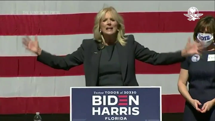 Así es Jill Biden, esposa de Joe Biden
