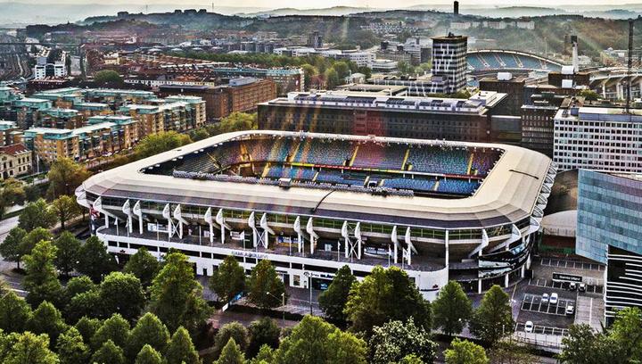 El estadio Gamla Ullevi, escenario de la final de la Champions femenina