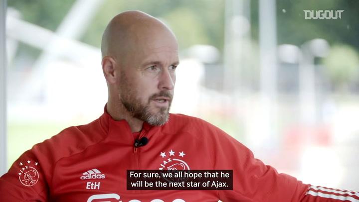 Ten Hag: 'We hope Antony will be Ajax's next star'