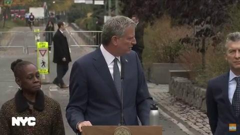 Macri dijo que el atentado en Nueva York dejó cinco familias destrozadas en Rosario