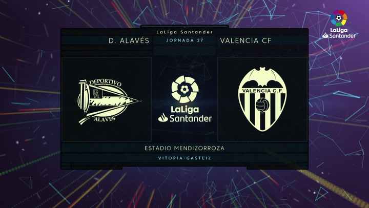 LaLiga (J27): Resumen y goles del Alavés 1-1 Valencia