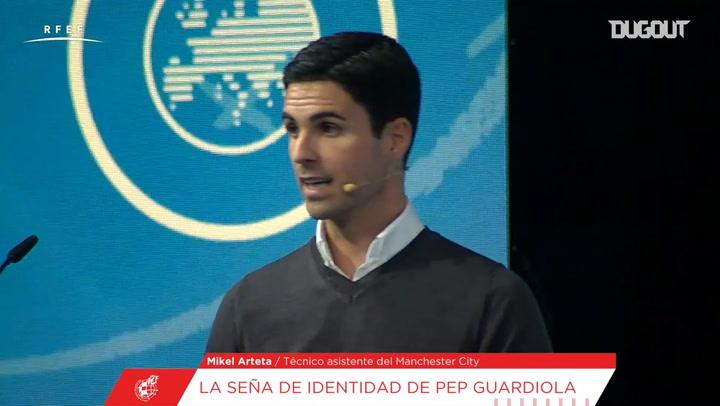 Arteta explica cómo Guardiola se adaptó al fútbol inglés
