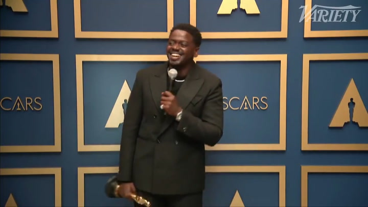 Daniel Kaluuya - Best Supporting Actor Backstage Interview