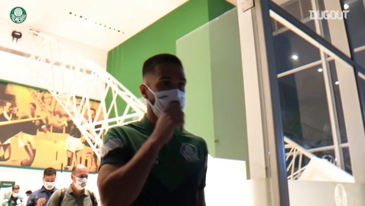 Behind the scenes of Palmeiras draw vs São Paulo at Morumbi