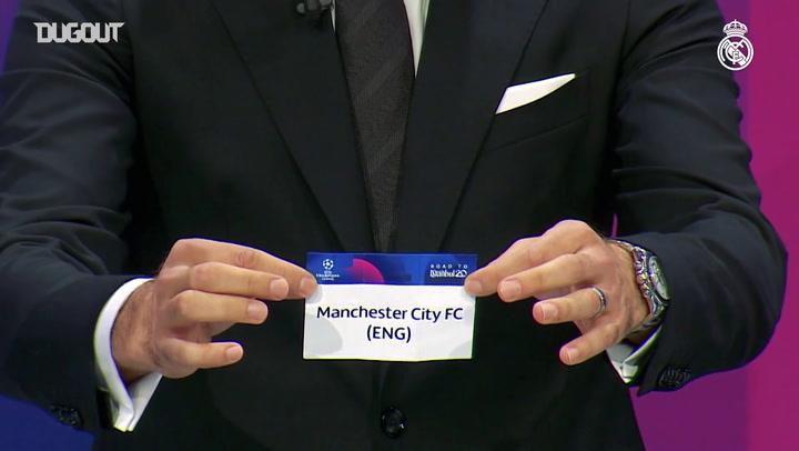 Real Madrid encara o Manchester City nas oitavas da Champions