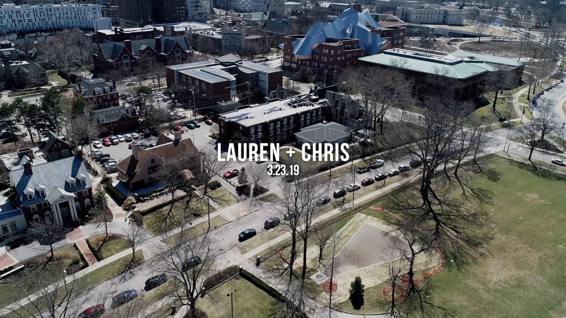 Laura + Chris | Cleveland, Ohio | Glidden House
