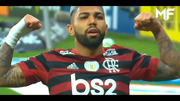 Así juega 'Gabigol', delantero del Flamengo y máximo goleador de la liga brasileña en 2019