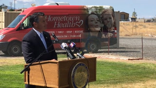 Sandoval announces health care coverage for rural Nevada
