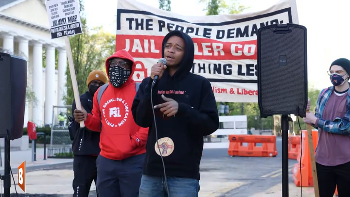 """Jail Killer Cops"" Activist: How Long"