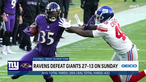 The Giants may still have a playoff chance, but what happened to their tackling on Sunday?