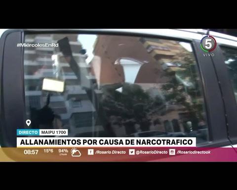 Dos gendarmes y un policía fueron detenidos tras 21 allanamientos por causas de narcotráfico