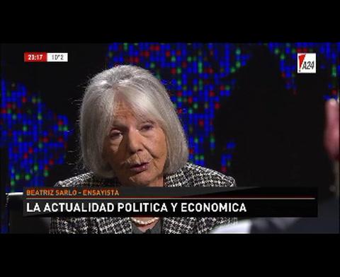 Sarlo: Las promesas de Macri eran una mezcla de ilusión e ignorancia