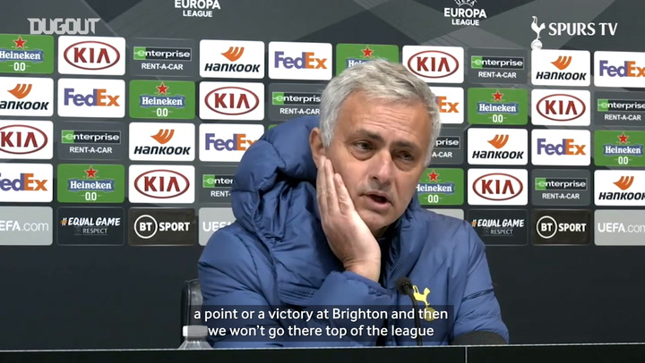 Jose Mourinho previews Spurs trip to Stamford Bridge