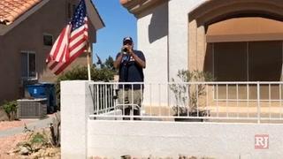 Summerlin Man Honors Veterans By Performing taps – Video