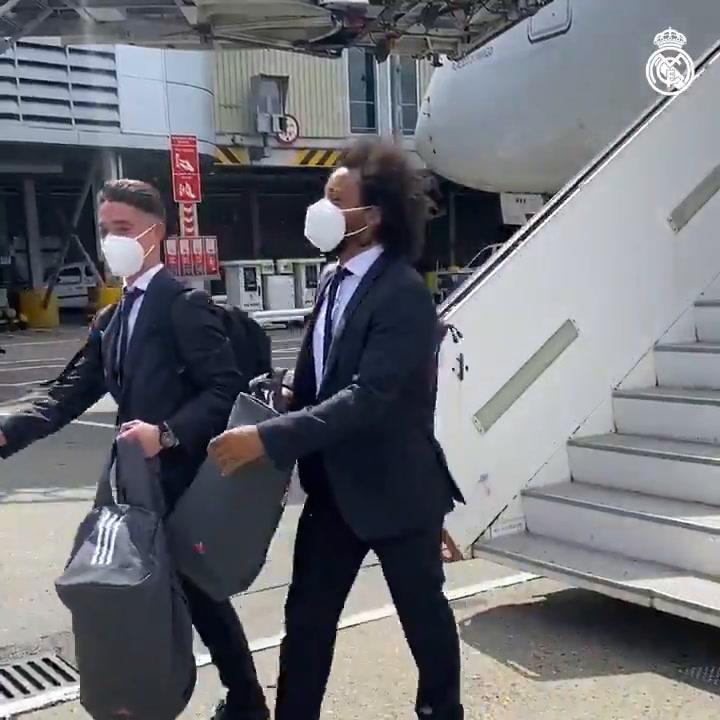 El Real Madrid ya está en Londres