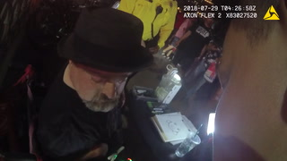 Las Vegas police cite disabled Strip artist