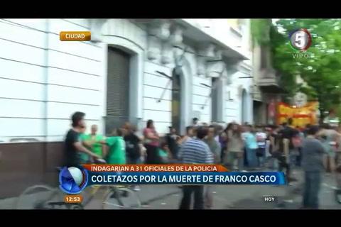 Piden prisión preventiva para los policías vinculados con la muerte de Franco Casco