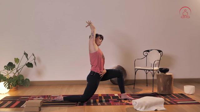 Yoga bei Vollmond