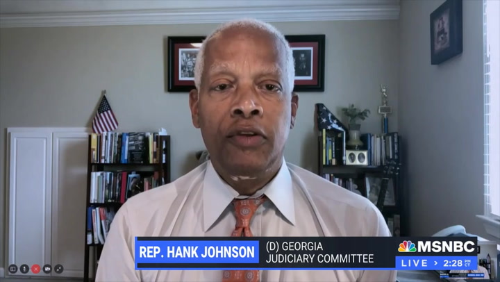 Hank Johnson: Filibuster 'A Relic of the Racist Past' and 'No Longer Effective in Advancing the Just Will of a Minority'