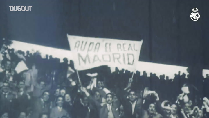 Real Madrid's first five European titles