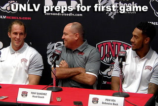 UNLV preps for first game