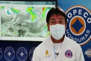 Masa de aire frío débil genera abundante nubosidad en Honduras