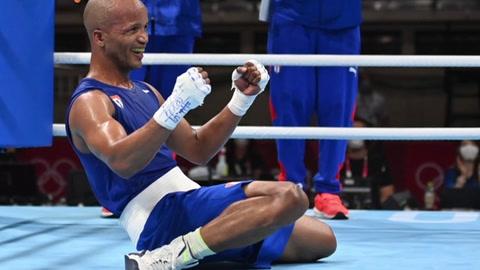 Roniel Iglesias logra el primer oro de Cuba en el boxeo de Tokio-2020