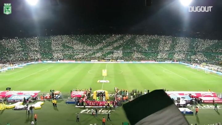 The incredible atmosphere ahead of a historic game for Nacional