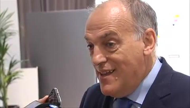 """Tebas: """"¿La queja del Espanyol? Debe haber un microclima en Cornellà..."""""""