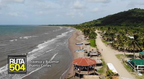 Ruta 504 - Travesía y Bajamar, las joyas de Puerto Cortés