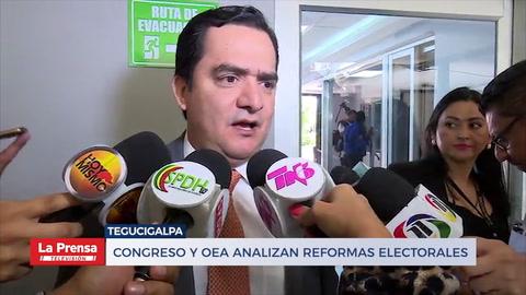 Congreso y OEA analizan reformas electorales