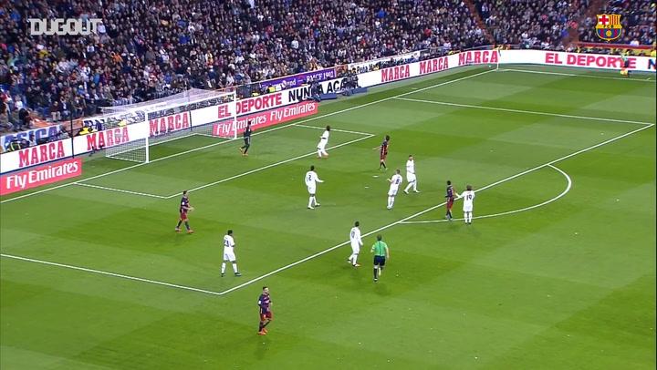 Highlights: FC Barcelona's 2015 Triumph At The Bernabeu