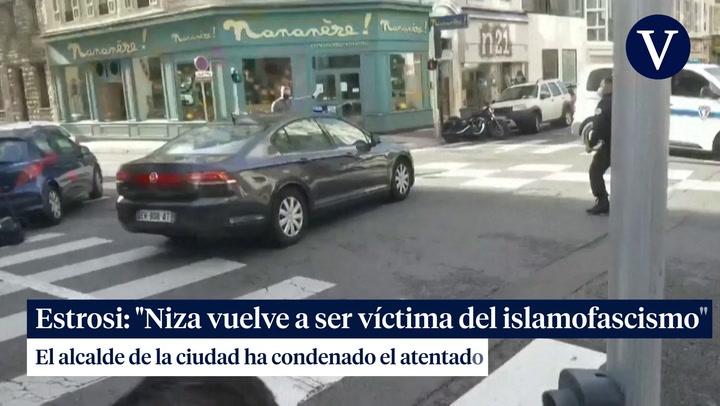 Christian Estrosi: 'Niza vuelve a ser víctima del islamofascismo'