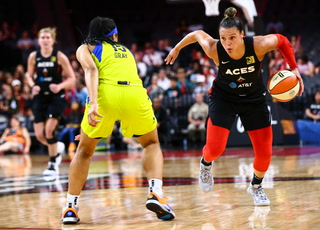 Las Vegas Aces Roll Dallas Wings After the All-Star Break – Video Highlights