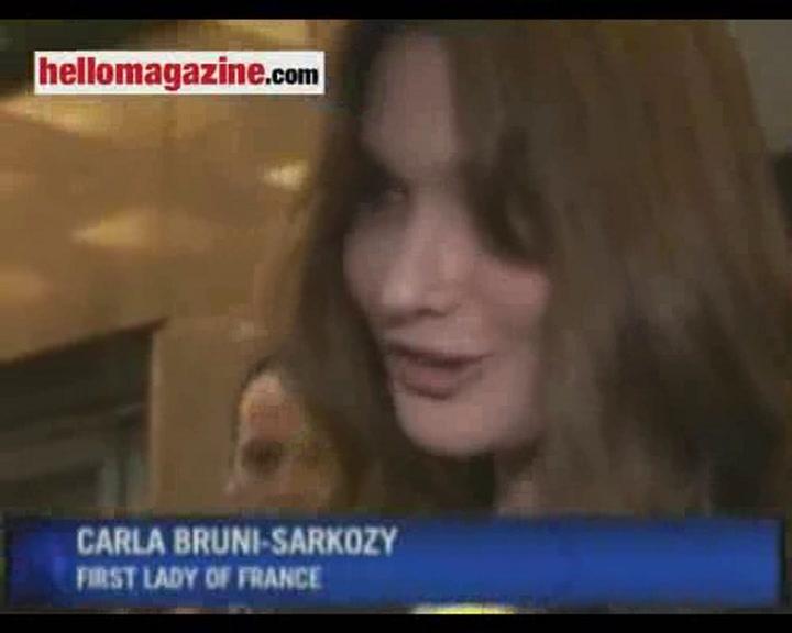 Carla Bruni-Sarkozy joins diva lineup at Mandela concert