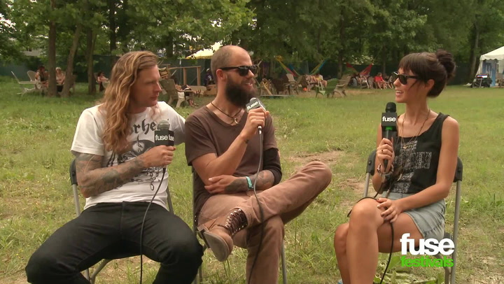 "Festivals: Bonnaroo 2013: Baroness at Bonnaroo: ""Life Is Exhausting, Touring Is Fun"""