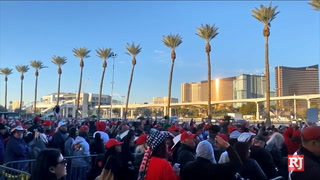 Thousands gather for Trump rally