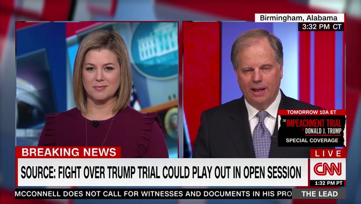 Doug Jones: 'I'm Going to Get Reelected Regardless' of My Impeachment Vote