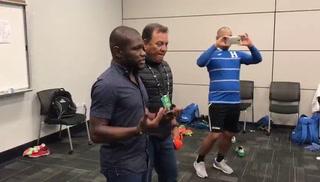 Tyson Nuñez llora tras clasificación de Honduras al Mundial de Polonia