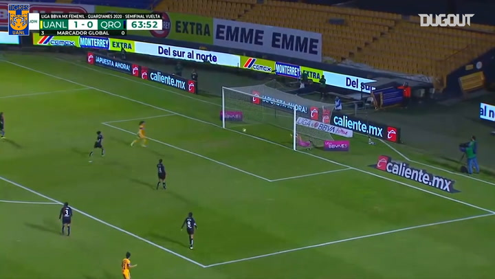 Natalia Gómez Junco's impressive strike vs Querétaro